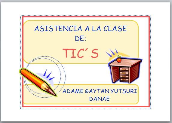 Tarea De Word Curso TICs ESTIPN