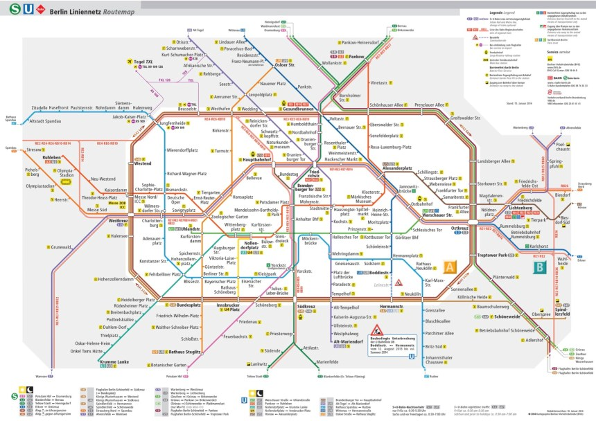 Metro de Berlín / Berlin subway