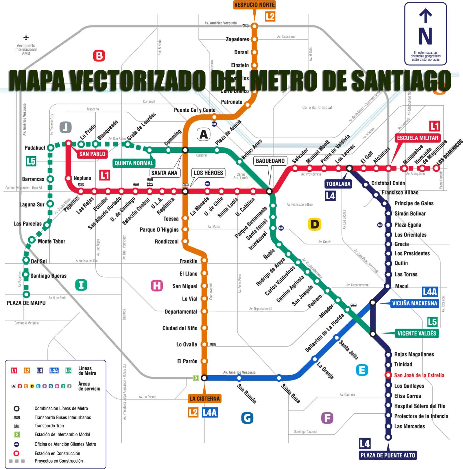 Metro De Santiago De Chile Santiago Subway Infografia Infographic Maps Tics Y Formacion