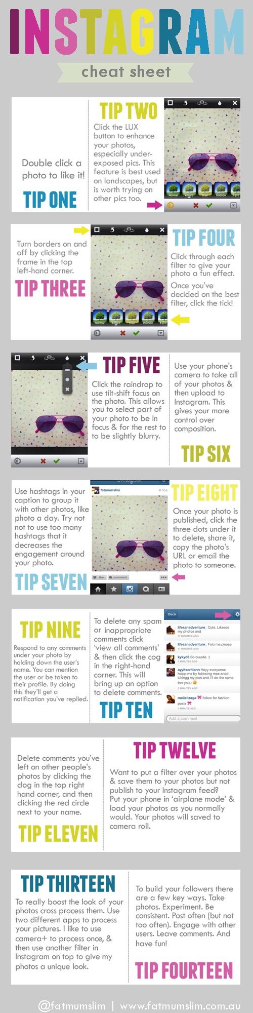 14 consejos para Instagram