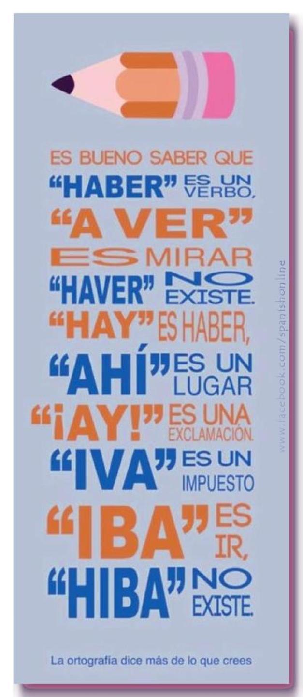 Un poco de ortografía castellana
