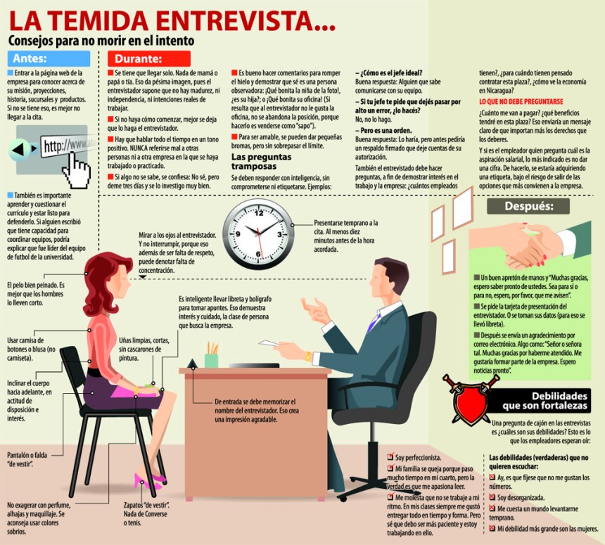 Cómo no morir en una entrevista de trabajo