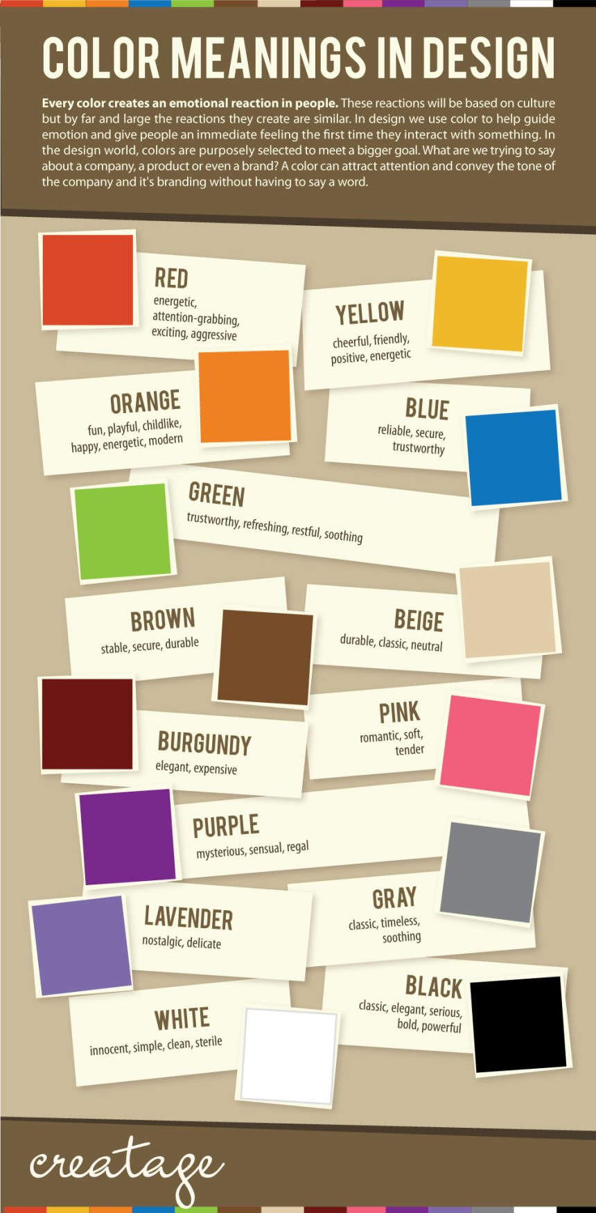 Significado de los colores en diseño