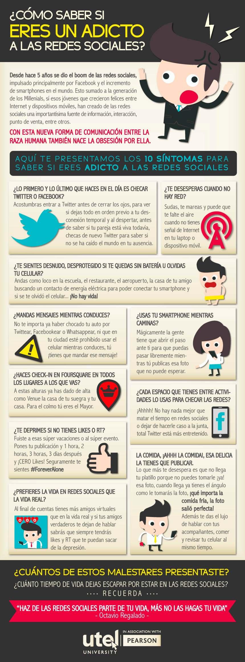 ¿Eres adicto a las Redes Sociales?