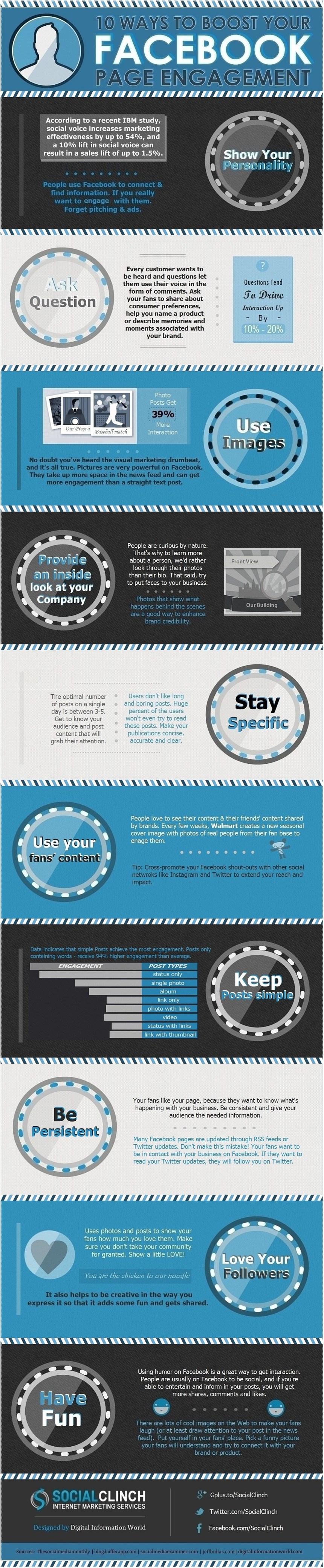 10 formas de conseguir engagement en tu página de FaceBook