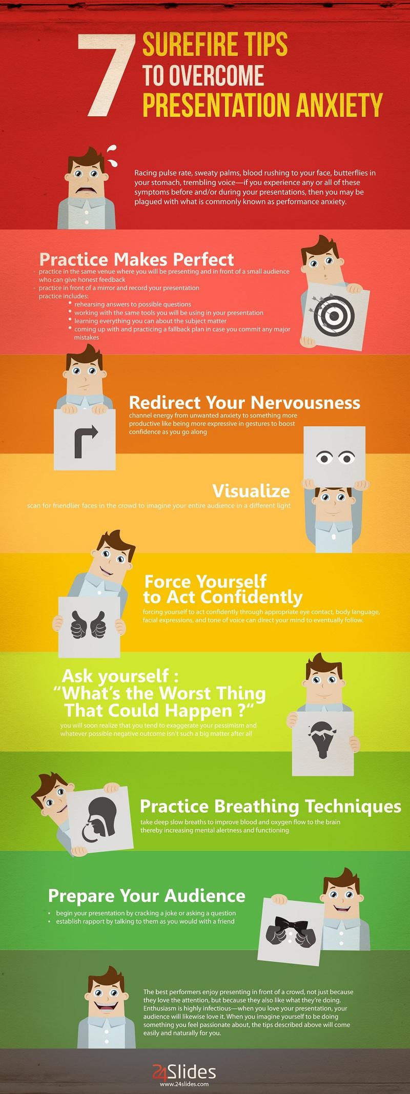 7 consejos infalibles para superar la ansiedad en una presentación