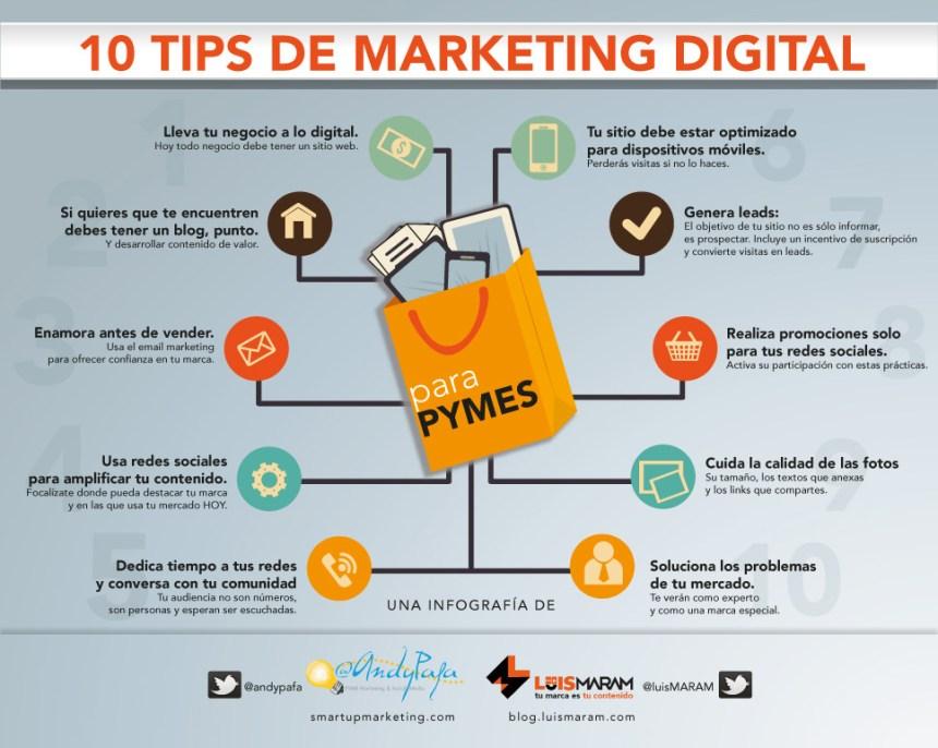 10 consejos de marketing digital para pymes