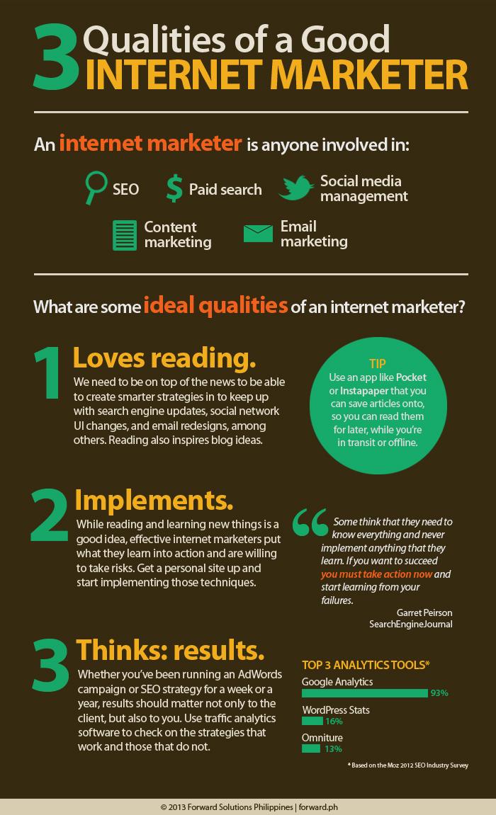 3 cualidades del experto en marketing digital