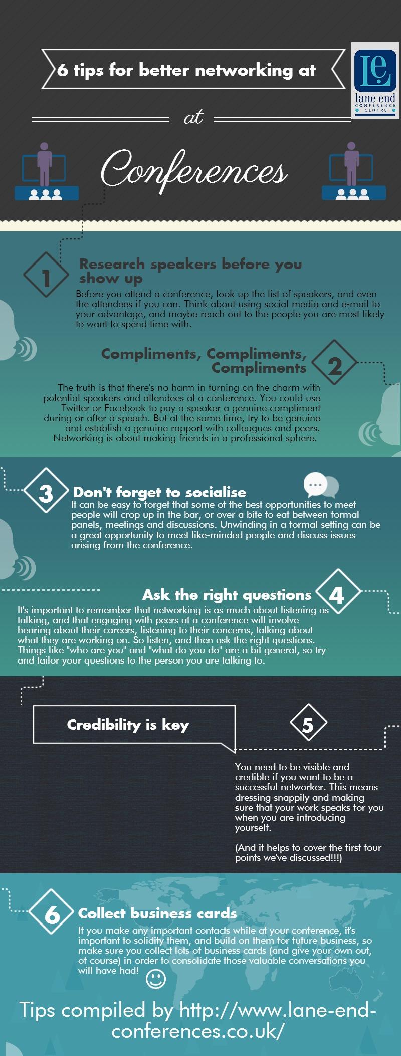 6 consejos para el mejor networking en conferencias
