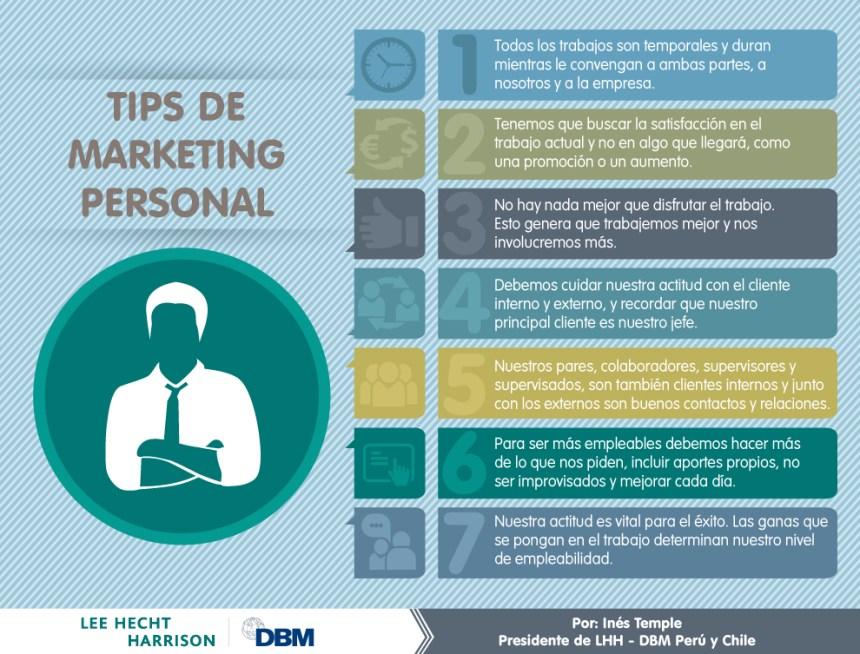 7 consejos de marketing personal