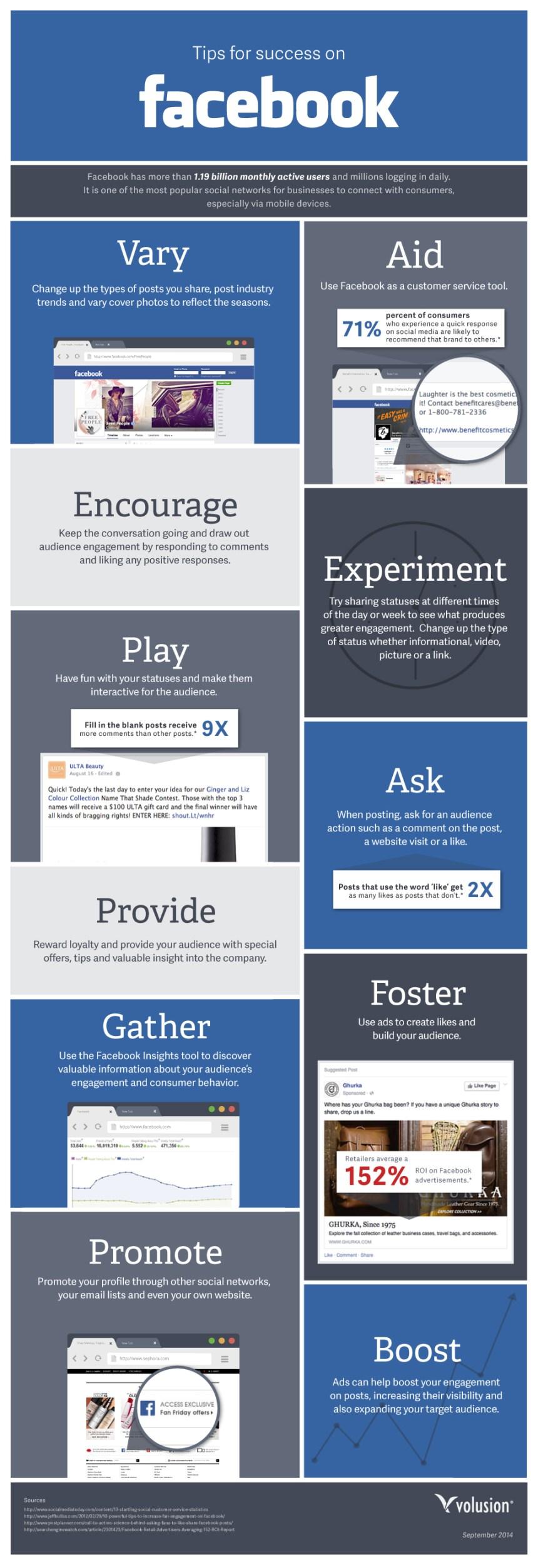 11 consejos para el éxito en FaceBook