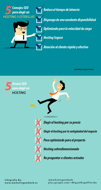 5 consejos SEO para elegir el mejor hosting (y 5 errores)