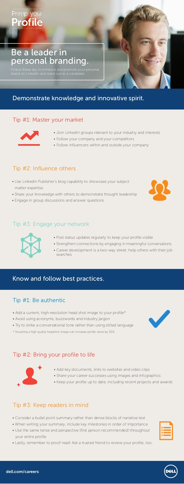 6 consejos para acicalar tu perfil de Linkedin