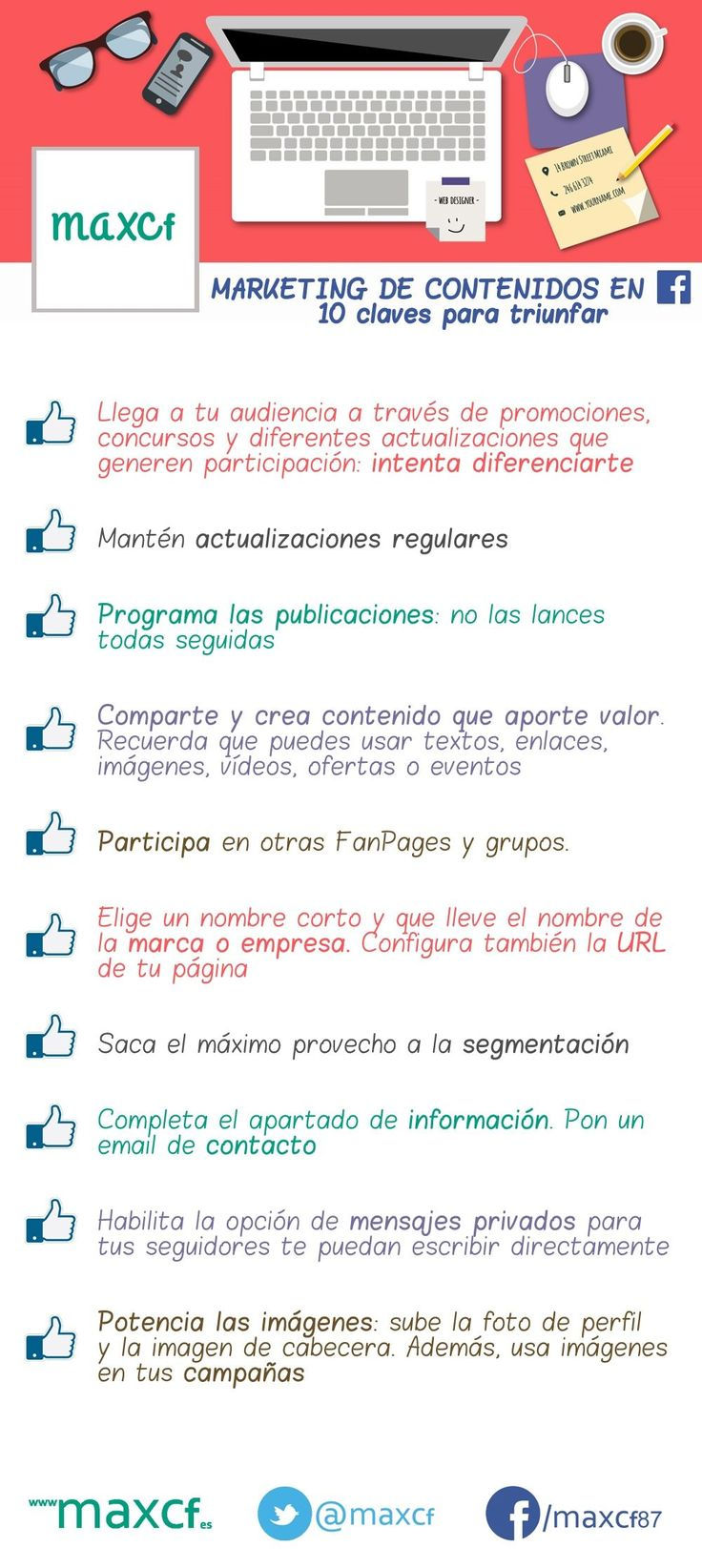 10 claves para el marketing de contenidos en FaceBook