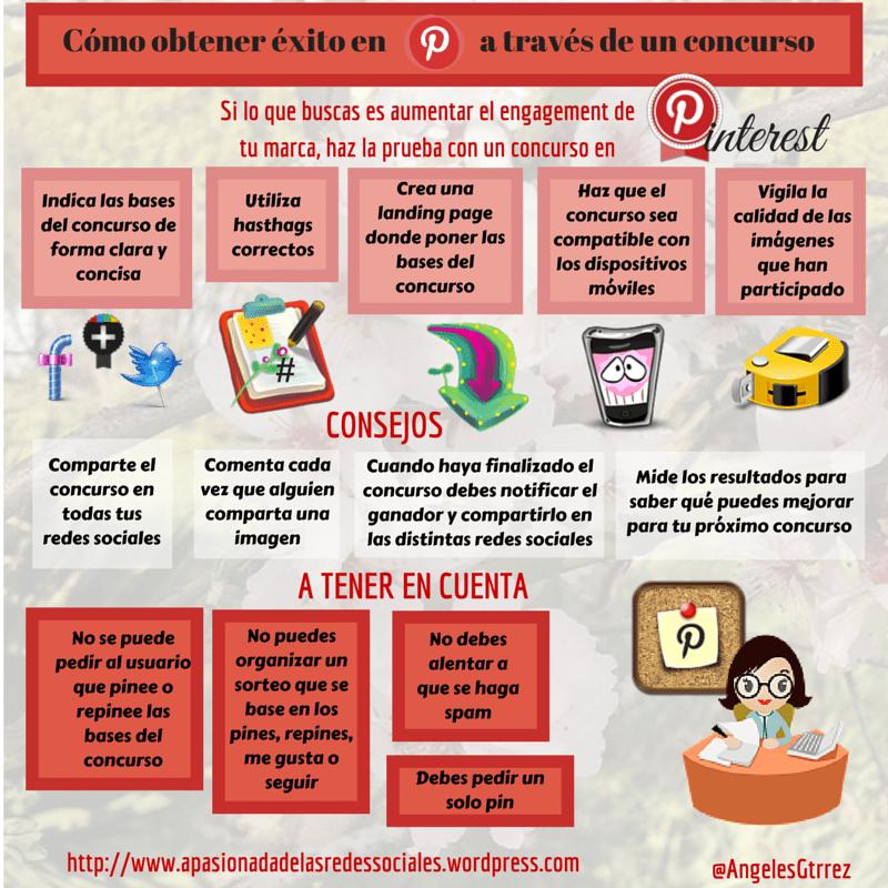 Cómo obtener éxito en Pinterest a través de un concurso
