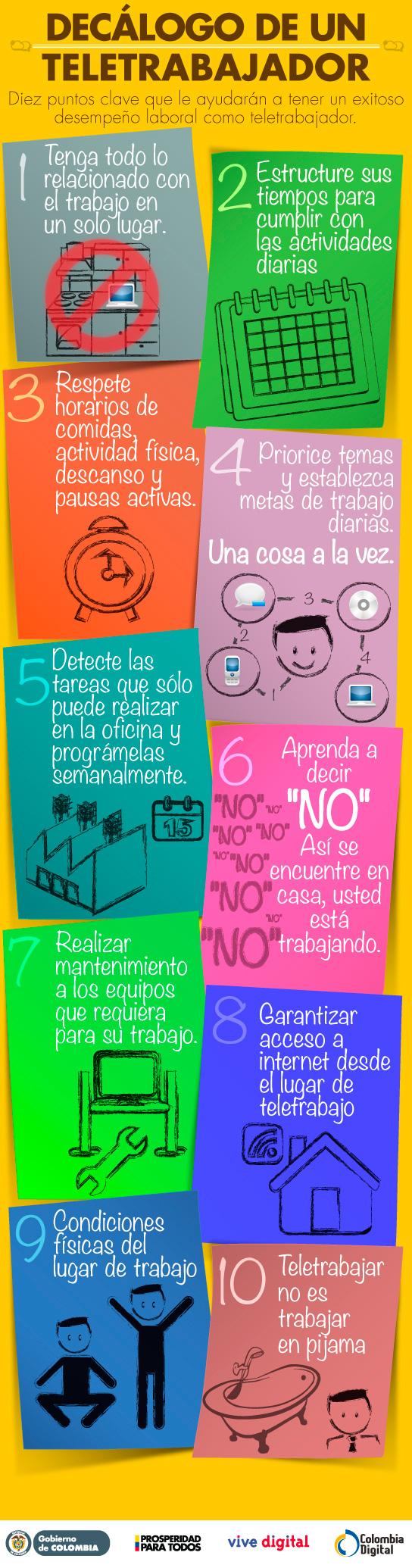 10 consejos para un teletrabajador