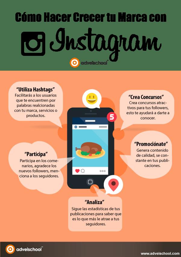 Cómo hacer crecer tu marca en Instagram