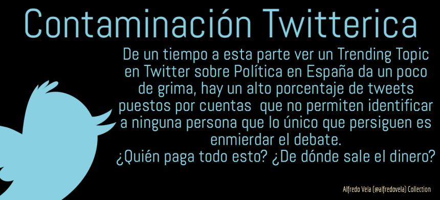 Contaminación Twitterica