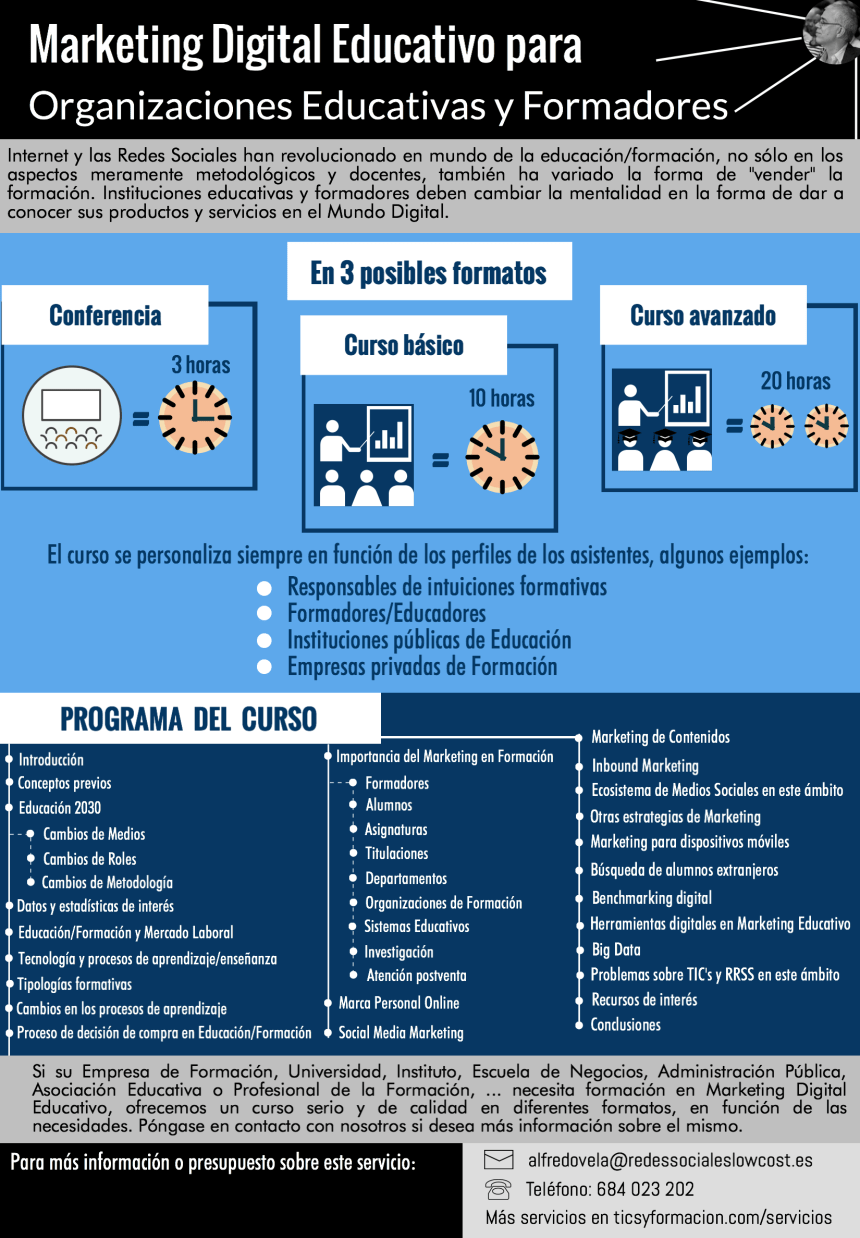 Curso de Marketing Digital Educativo