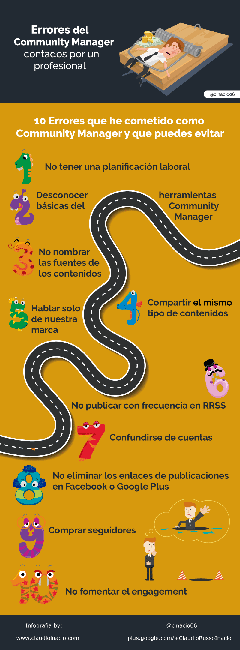 10-errores-del-Community-Manager-infografia
