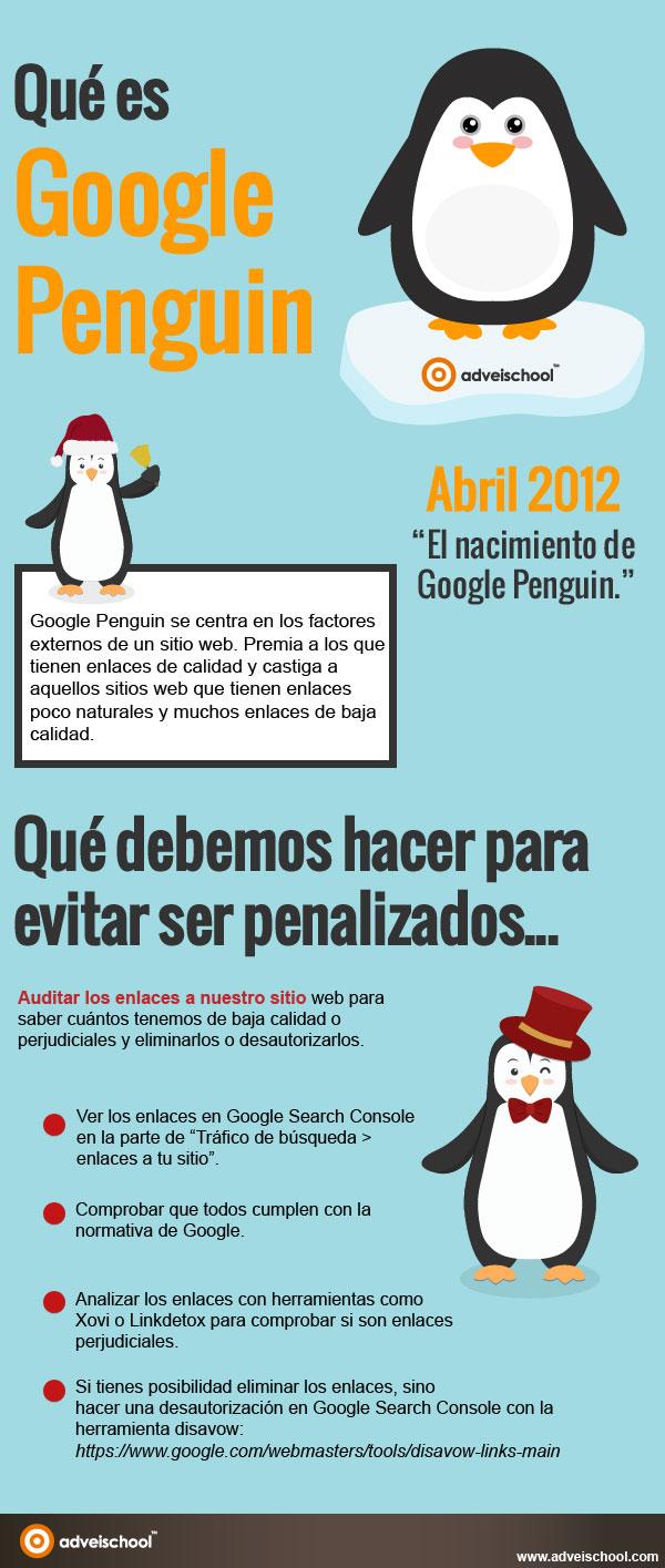 Qué es Google Penguin