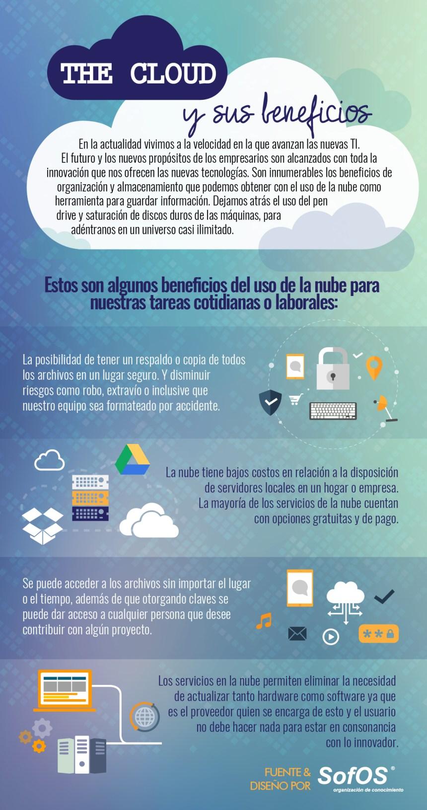 La Nube y sus beneficios