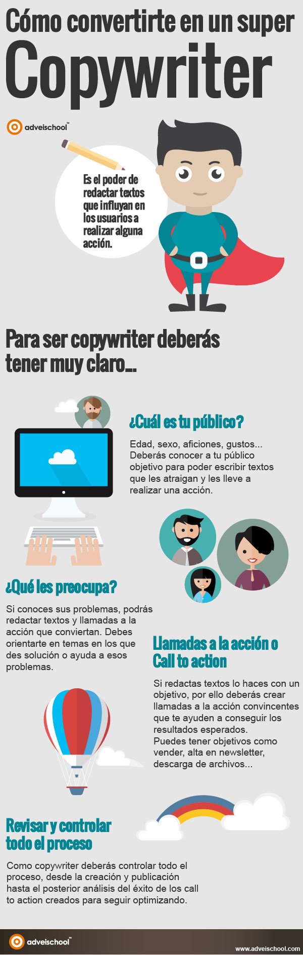 Cómo convertirte en un super copywriter