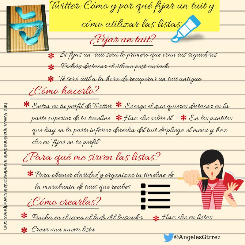 Consejos Twitter: por qué fijar un Tweet y cómo sacar provecho de las listas