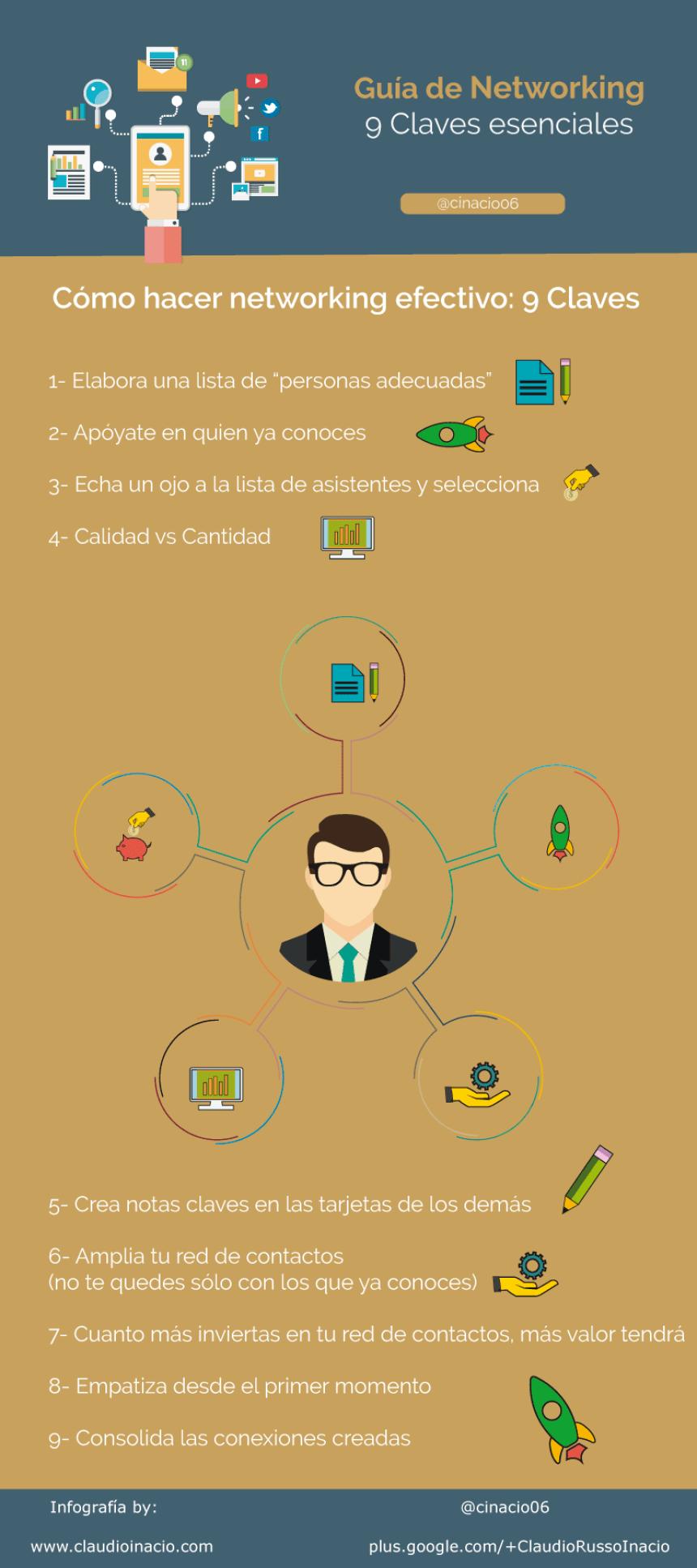 9 claves esenciales para el Networking
