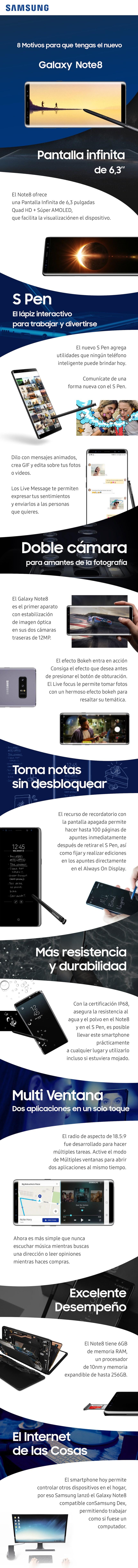 8 motivos para tener un Samsung Galaxy Note 8