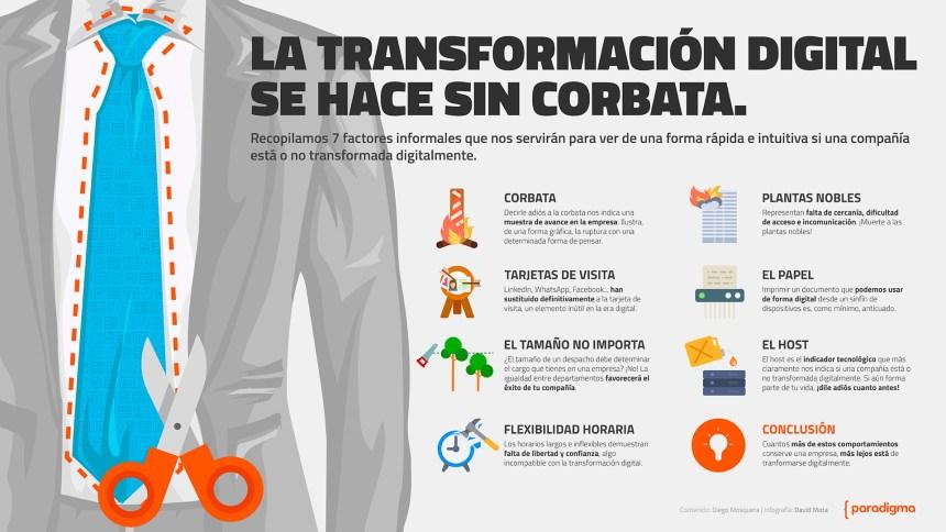 La transformación digital se hace sin corbata