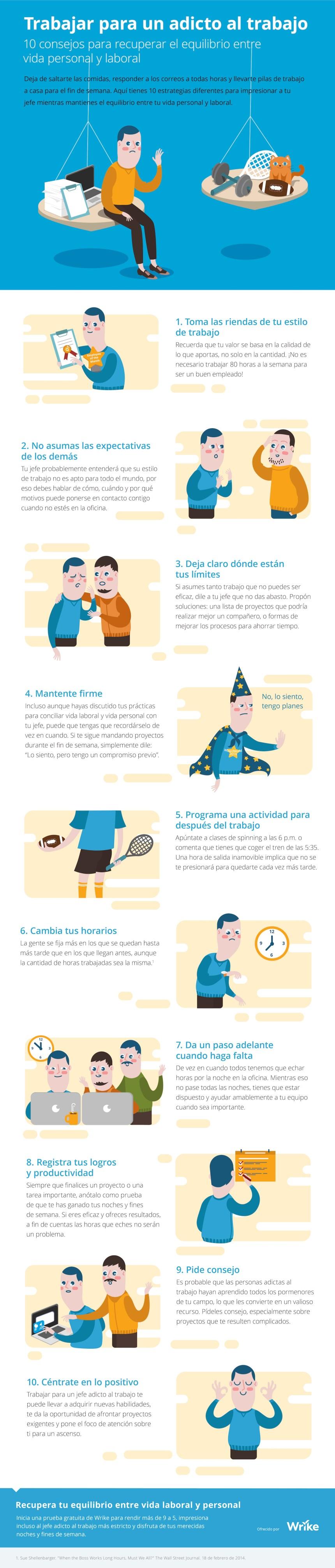 10 consejos para recuperar el equilibrio entre tu vida personal y laboral