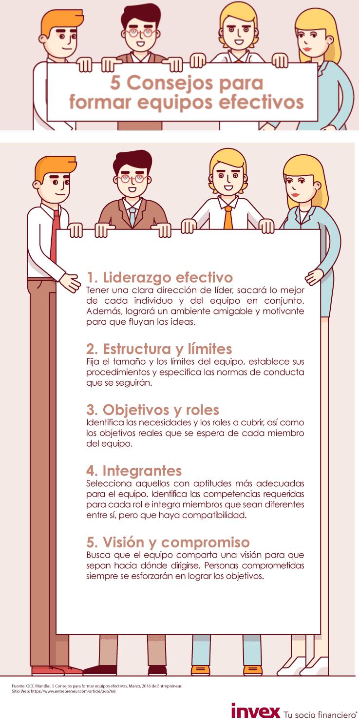 5 consejos para crear equipos efectivos
