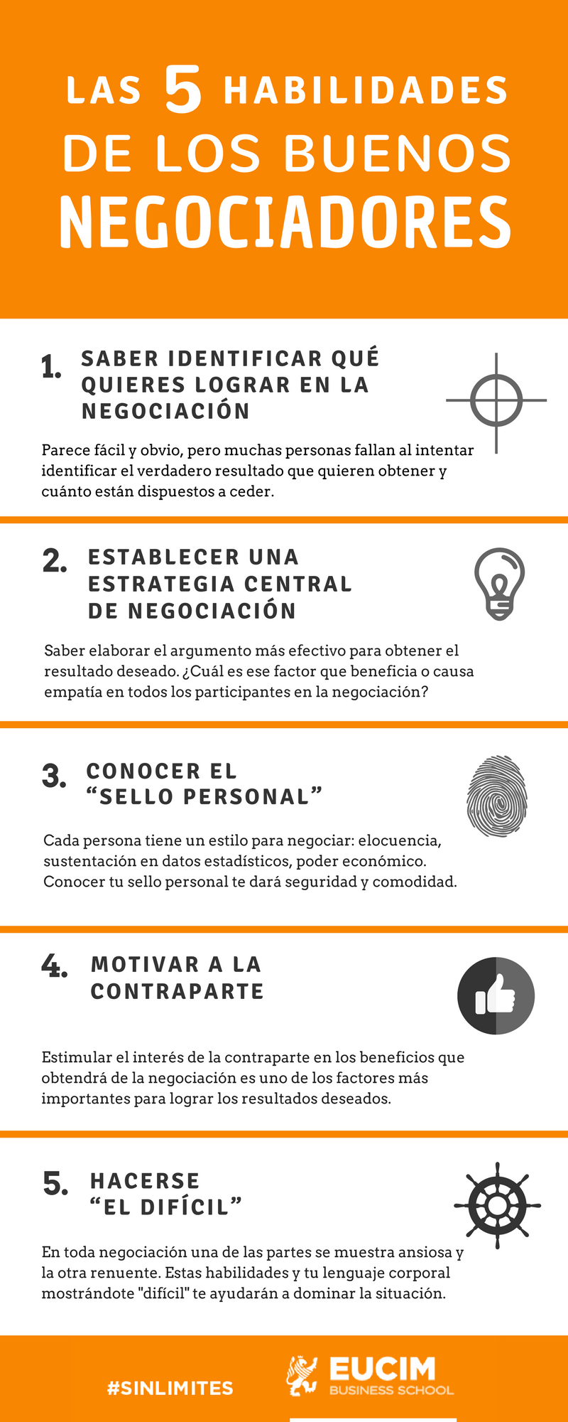 5 habilidades de los buenos negociadores