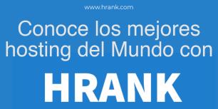 Hrank.com: es un servicio de control de tiempo de actividad de alojamiento web