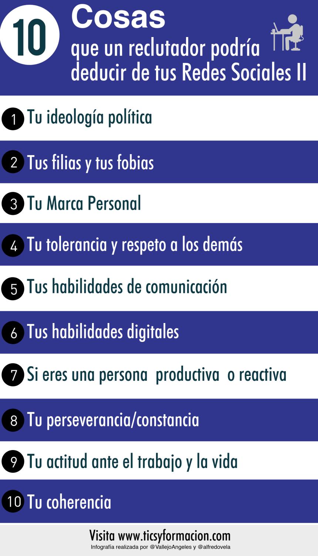 10 cosas que un reclutador podría deducir de tus Redes Sociales II