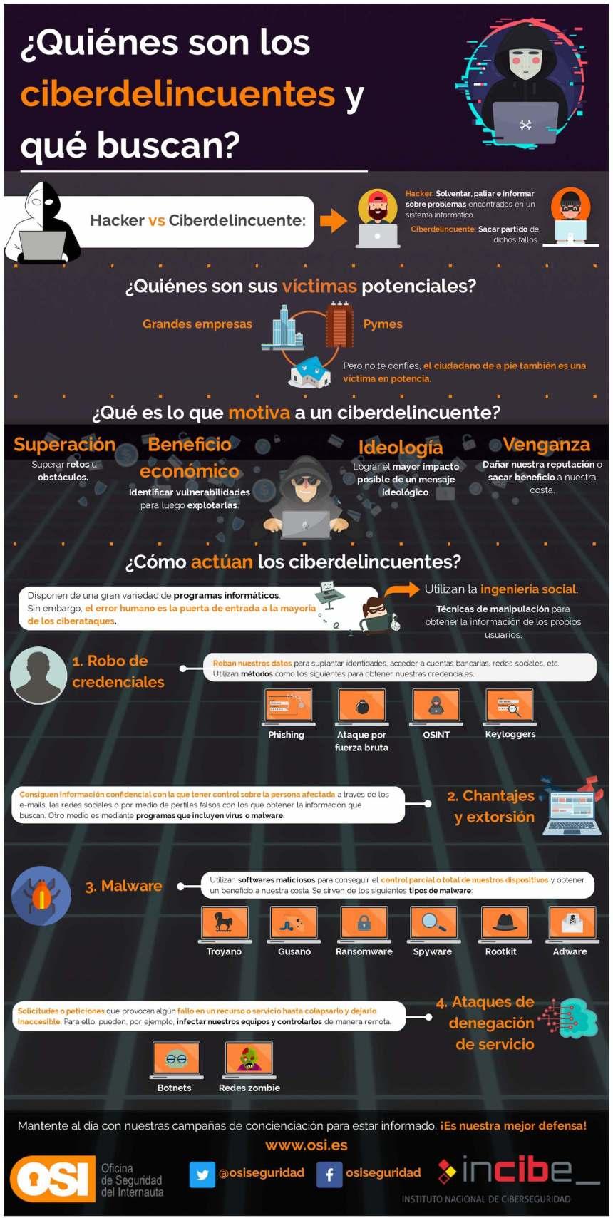Quiénes son y qué buscan los ciberdelincuentes
