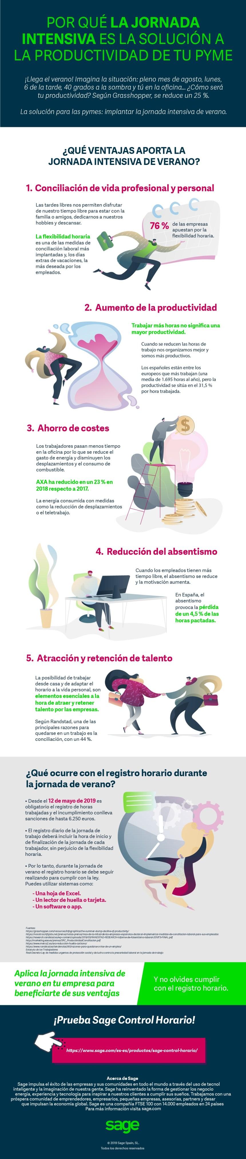 5 ventajas de la jornada intensiva de verano