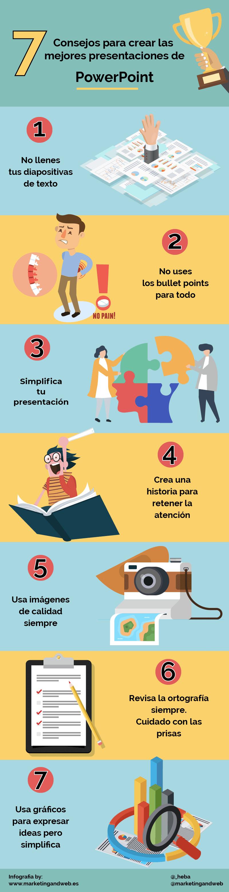 7 consejos para mejorar tus presentaciones de PowerPoint