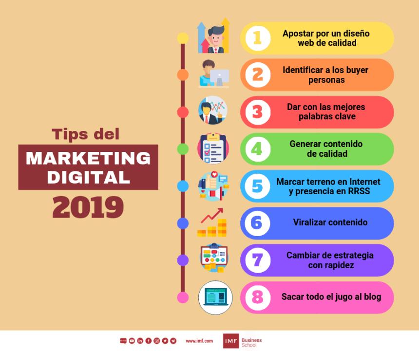 8 consejos de Marketing Digital