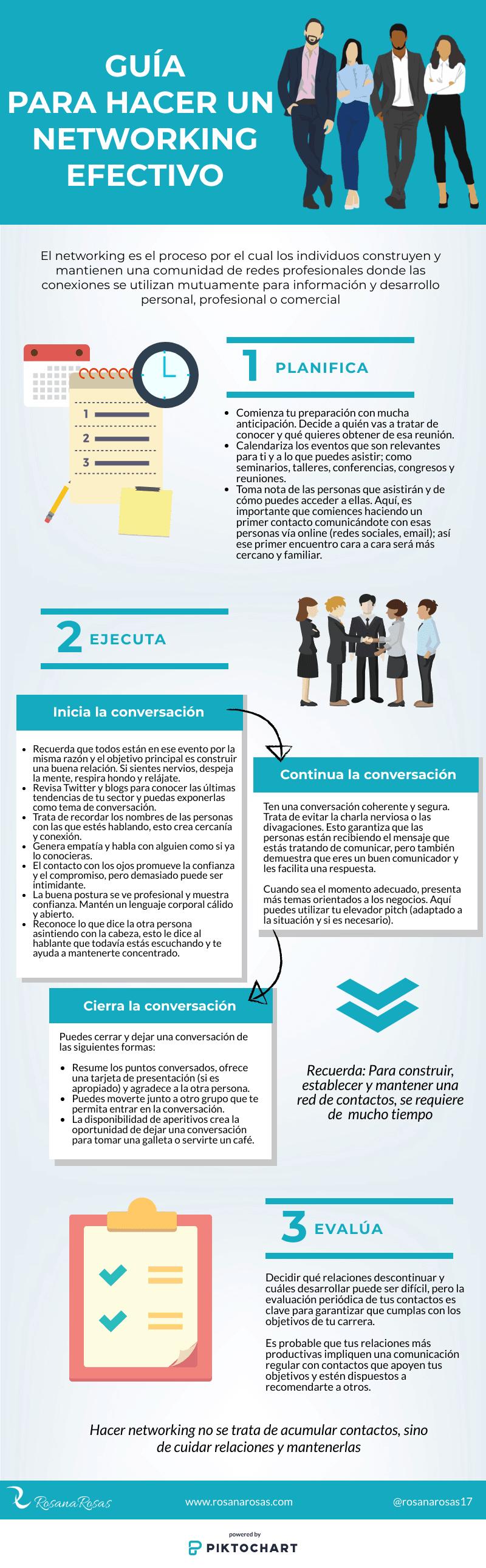 Guía para hacer un networking efectivo