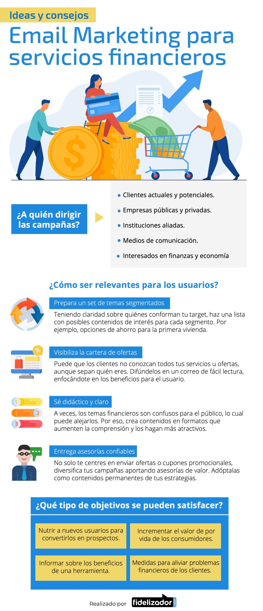 Email marketing para servicios financieros