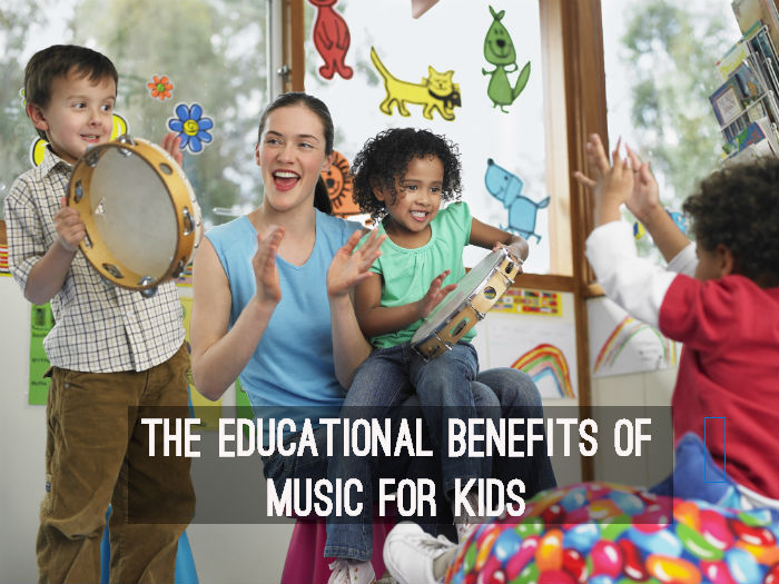 The educational benefits of music for kids - www.tictacteach.com