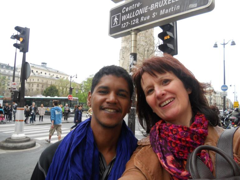quand on se retrouve une journée à Paris :o