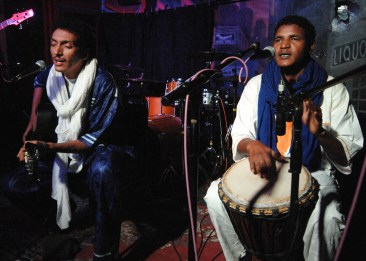 Bombino et Mohamed- Niamey - Niger