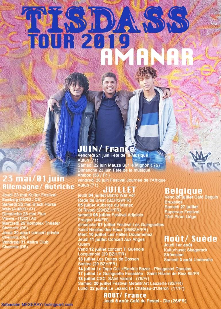 Tisdass Amanar Tour 2019
