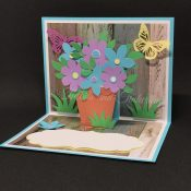 Pop-Up Flower Pot Mother's Day Card