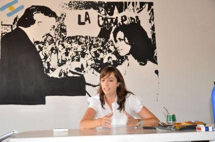 María Luz Alonso (FPV, La Pampa)