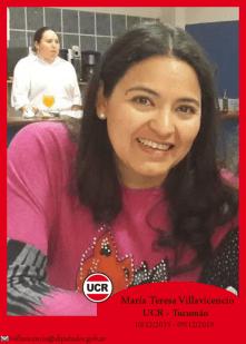 María Teresa Villavicencio