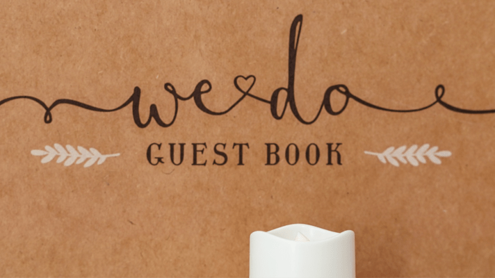 Free Wedding Guest Book alternative Printable